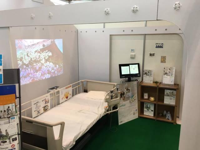 CEATEC展示会ダンボールハウスブース
